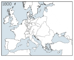 Europe nations 1800