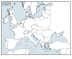 Europe nations 1920