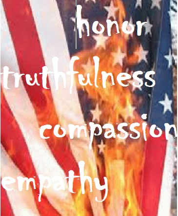 America burning