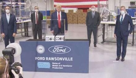 Trump at Ford