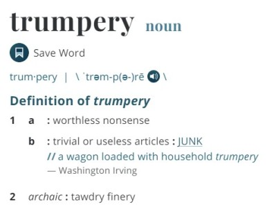 Webster Trumpery