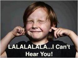 Montclair SocioBlog: LaLaLa . . . I Can't Hear You